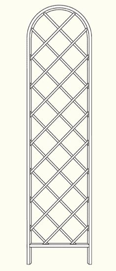 Free standing Trellis Beekman - www.classic-garden-elements.co.uk - Garden-Obelisks, Rose Arches, Rose Arbours, Trellises and Planters