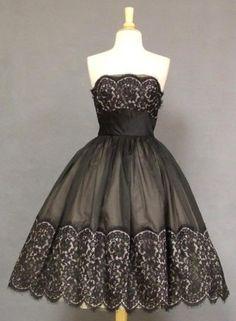 black & beige organdy & lace by Jasmin Glover