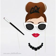 Breakfast at Tiffany's - Audrey Hepburn Photo Booth Accessoires - Mon Photobooth