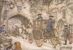 Sent to Germany - Anton Pieck Anton Pieck, Hand Drawings, Dutch Painters, Dutch Artists, Art And Architecture, Golden Age, Netherlands, Holland, How To Draw Hands
