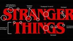 Designer Of 'Stranger Things' Logo Explains How It Was Made - DesignTAXI.com