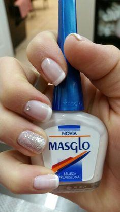 Masglo_oficial Crazy Nails, Fun Nails, Manicure Y Pedicure, Accent Nails, Acrylic Nails, Nailart, Nail Designs, Hair Beauty, Nail Polish