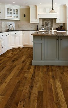 "3 1/4"" engineered hickory verona from the Parkview collection from realwoodfloors.com"