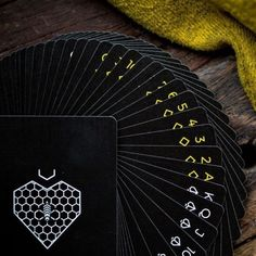 A nice looking deck from Ellusionist that handles well and a great addition to any collection. Bee Playing Cards, Cold Face, Play Casino Games, Deck Of Cards, Card Deck, Bees Knees, Aesthetic Pictures, The Magicians, How To Look Better