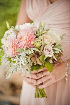 pink dahlia bouquet - Google Search