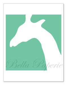 Animal Silhouettes for wall art