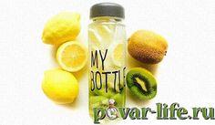 Летняя фруктовая вода