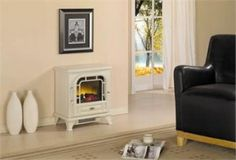 Free Standing electric fireplaces | ... Freestanding Electric Stove – CFS-S508CRM-0959 | Fireplace Blog Free Standing Electric Fireplace, Electric Fireplaces, Electric Stove, Lounge Ideas, Gas Fireplace, Board, Blog, Home Decor, Living Room Ideas