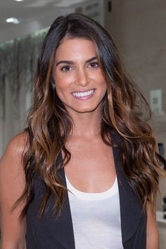 Brunette with highlights. thinking about doing this in the fall...