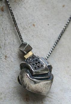 Diamond Knot necklace by Macha Jewelry