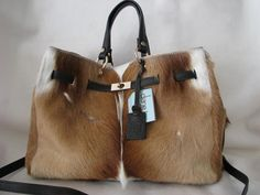 South African Springbok Antelope Satchel/Shoulder bag....gorgeous!!!