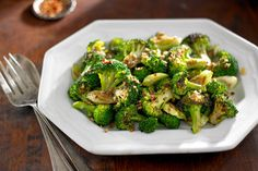 NYT Cooking - Broccoli with Anchovies & Garlic