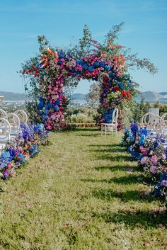 18 Natural Wedding Decor Ideas ❤️ natural wedding décor outdoor ceremony arch with bright volume flowers allforlovelondon Floral Wedding, Wedding Flowers, Jewel Tone Wedding, Wedding Greenery, Bouquet Wedding, Gown Wedding, Wedding Bride, Lace Wedding, Wedding Cakes
