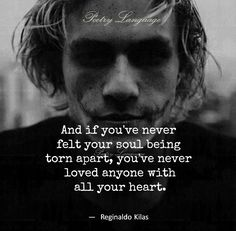 I still love him so much And if you've never felt your soul being torn apart, you've never loved anyone with all your heart. Sad Quotes, Great Quotes, Quotes To Live By, Life Quotes, Inspirational Quotes, Quotes Images, Dating Quotes, Family Quotes, Texts