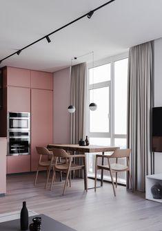 Home interior Design Cozy Modern - - French Home interior Design - Home interior Dark - Grey Interior Design, Apartment Interior Design, Interior Design Kitchen, Interior Design Living Room, Interior Decorating, Luxury Interior, Decoracion Vintage Chic, Futuristisches Design, Modern Design