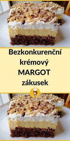 Sweet Desserts, Sweet Recipes, Cake Recipes, Slovak Recipes, Desert Recipes, Cheesecakes, No Bake Cake, Nom Nom, Sweet Tooth
