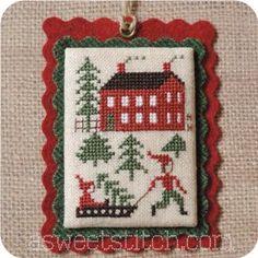 Cross Stitch Finishing Ornament Page - A Sweet Stitch