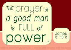 James 5:16b
