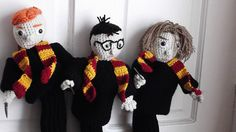 Golf Club Covers Harry, Ron & Hermione Buy 1, 2, or all 3. Made to Order Fun and Unique Gift for Harry Potter Fan