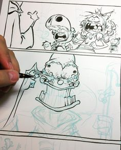 Skottie Young: Slightly infected