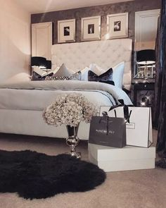 Glam Bedroom Decor Luxury Classy An In Depth Anaylsis On What Works And What Doesn't 25 Glam Bedroom, Home Decor Bedroom, Modern Bedroom, Bedroom Furniture, Contemporary Bedroom, Budget Bedroom, Ikea Bedroom, Bedroom Black, Bedroom Classic