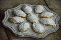 Arabic Ghuraybeh (Lebanese Butter Cookies) recipe by Rose Water and Orange Blossoms