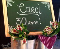 Receber e Celebrar: Aniversário de 30 anos