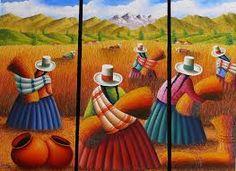 Résultats de recherche d'images pour «cuadros peruanos modernos»