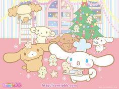 Christmas with Cinnamoroll and friends!