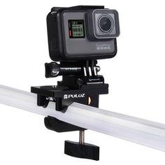 [$20.68] PULUZ Aluminium Alloy Mount Universal Fixing Clamp for GoPro HERO5 /4 Session /4 /3+ /3 /2 /1, Xiaoyi, SJCAM Camera