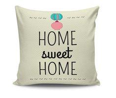 Home Sweet Home Díszpárna 45x45 cm - Vivre