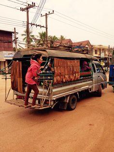 How Laotians ride. #AIAVan #AILaos