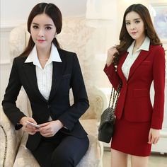 Fashion Elegant Formal Office Business Womens Suit Blazer For Work Wear 3Colors #Unbranded #Blazer