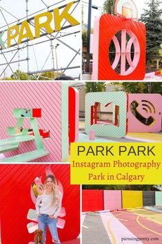 PARK PARK - outdoor photography space in Inglewood, Calgary, Alberta. Colourful Instagram walls in Calgary! #tourism #instagram #photgraphy Park Photography, Outdoor Photography, Color Photography, Sweaters And Jeans, Warm Sweaters, Canadian Culture, Mustard Cardigan, Gap Outfits