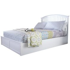 Buy GFW Madrid White Ottoman Kingsize Bed Frame at Argos. Thousands of products for same day delivery or fast store collection. Single Metal Bed Frame, Small Double Bed Frames, White Ottoman, Ottoman Bed, White Wooden Bed, Under Bed Storage, Storage Beds, Space Saving Beds, King Headboard