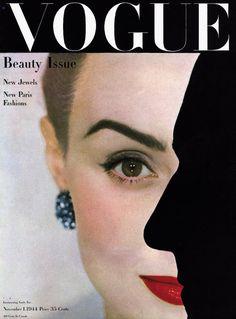 Photo by Erwin Blumenfeld, Vogue US, November 1944*