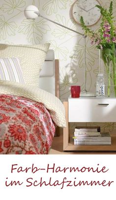 Schlafzimmer: Ein Bett Unter Blattgrün