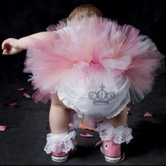 Aw princess baby (: