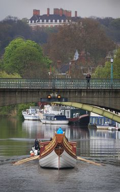 New Royal Barge Prepared For Diamond Jubilee River Pageant, The Gloriana