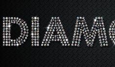 Photoshop Tutorial: How to Create a Quick Sparkling Diamonds Text Effect | design.tutsplus.com