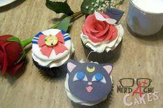 Sailor moon cupcakes .. Baby shower ideas