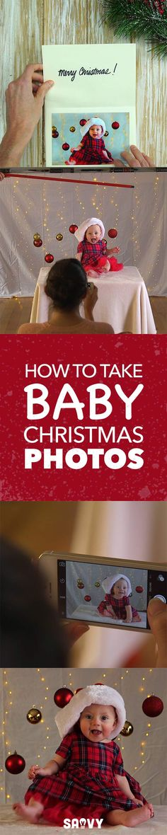 How to Take Baby Christmas Photos