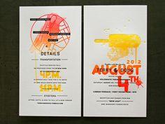 graphic design, invite design, studios, neon, fountain, wedding invitations, candy art, colorful weddings, summer weddings