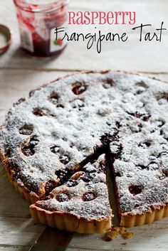Raspberry Frangipane Tart