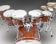 New Catalina Maple CM1 Series Drums & Drum Sets (Gretsch Drums) Sizes, Colors, Features and Photos Another cool looking set