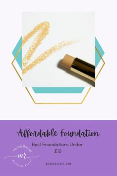 Are you always looking for a new foundation to try that isn't going to cost you a bomb? Today I'm sharing a list of my favourite affordable foundations that can be bought for under £10. #afordablefoundation #afordablemakeup #makeup #foundation #makeupreccomendations