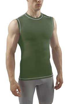 Sub Sports - Camiseta de running de compresión sin mangas para hombre #camiseta #realidadaumentada #ideas #regalo