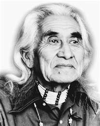 """Chief Dan George (July 24, 1899 – September 23, 1981) was a chief of the Tsleil-Waututh Nation, a Coast Salish band located on Burrard Inlet in North Vancouver, British Columbia, Canada. He was also an author, poet, and an Academy Award-nominated actor.  He acted in the movie """"The Outlaw Josey Wales."""""""