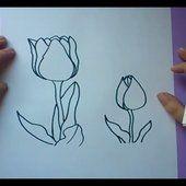 Como dibujar una flor paso a paso 7 | How to draw a flower 7