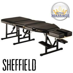 Sheffield Elite Professional Portable Chiropractic Table - Charcoal >>> To view further for this item, visit the image link.